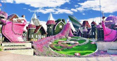 """وحديقة الزهور المعجزة """"ميراكل جاردن""""....مشاهد"""