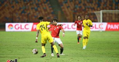 فيدجي يحرز الهدف الأول لمنتخب توجو أمام المنتخب الوطني