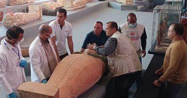 وزير السياحة والآثار: الإعلان عن كشف أثرى جديد قريبا