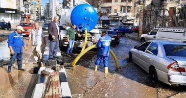 وزير التنمية المحلية يوجه المحافظين باستكمال جهود شفط تراكمات مياه الأمطار