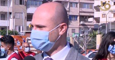 الهلال الأحمر المصرى: قدمنا 100 طن من المساعدات الطبية لغزة