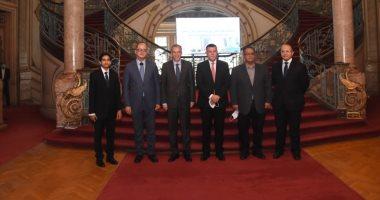 معهد الدراسات الدبلوماسية يوقع بروتوكولاً للتعاون العلمى مع جامعة عين شمس