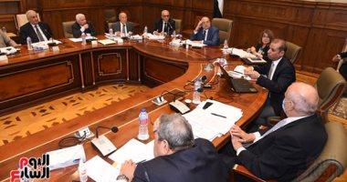 صور.. بدء اجتماع لجنة لائحة الشيوخ لمناقشة تقرير لجنة الصياغة
