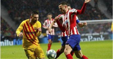 موعد مباراة أتلتيكو مدريد ضد برشلونة اليوم والقنوات الناقلة