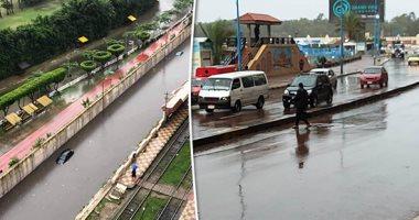 أمطار متوسطة على الإسكندرية وغزيرة بمطروح اليوم.. والصغرى بالعاصمة 14