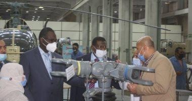 وفد سودانى يزور العربية للتصنيع لبحث مجالات التعاون المشتركة