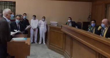 فيديو.. إحالة أوراق المتهمين بقتل فتاة المعادى للمفتى لإبداء الرأى فى إعدامهما
