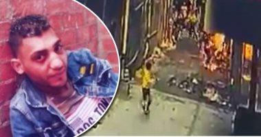 فيديو.. عامل يلقى مادة حارقة على شاب ويشعل به النار حتى الموت فى كرداسة