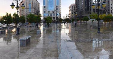 هطول أمطار على محافظة جدة بالسعودية اليوم السابع
