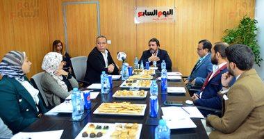 يوسف الحسينى: سنقاضى أى شخص طعن فى ذمتنا المالية بعد انتهاء الانتخابات