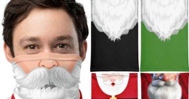"""7 كمامات تناسب الاحتفال بأعياد الكريسماس..""""بابا نويل وشجرة الميلاد الأبرز"""""""