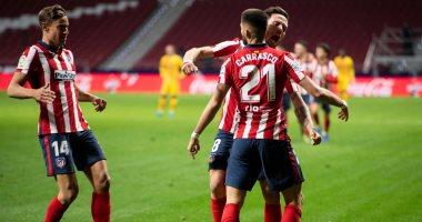 أتلتيكو مدريد يحسم قمة الدوري الإسبانى بهدف ضد برشلونة