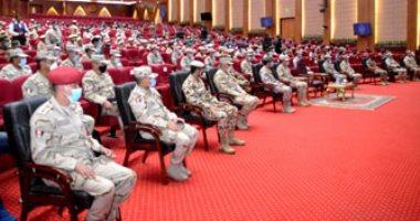 """انطلاق فعاليات التدريب المشترك """"سيف العرب"""" بقاعدة محمد نجيب العسكرية"""