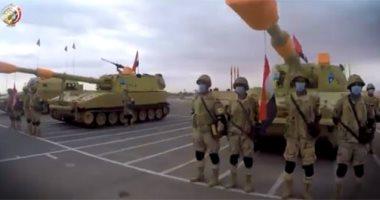 """تدريب """"سيف العرب"""".. 6 جيوش عربية تجتمع على أرض مصر """"فيديو"""""""