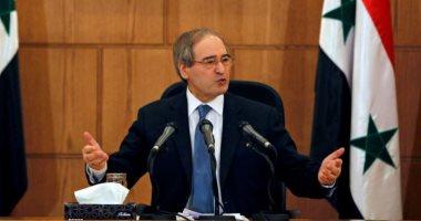 وزير الخارجية السورى: مستعدون لأى شيء تطلبه فلسطين
