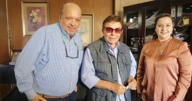 سمير صبري يظهر علي نايل سينما احتفالا بمرور 60 سنة على إنشاء ماسبيرو