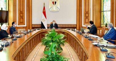 السيسى يدعو المصريين للحيطة والحذر وعدم الجلوس فى الأماكن المغلقة.. فيديو