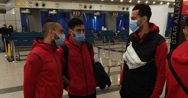 بعثة المقاولون تغادر مطار جيبوتى فى رحلة العودة إلى القاهرة