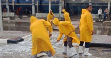 مطار القاهرة: لا تأثير على الحركة الجوية بسبب الطقس وخطة للتصدى للأمطار