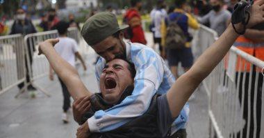 فيديو وصور جديدة من جنازة مارادونا أمام القصر الرئاسي الأرجنتيني
