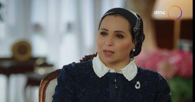 """حرم الرئيس السيسى عن أول لقاء بينهما: """"البداية تحسسك إن الإنسان ده مسئول"""""""