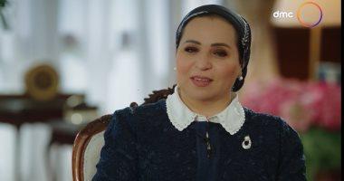 حرم الرئيس السيسى: بحب أم كلثوم وفايزة أحمد لها غلاوة خاصة