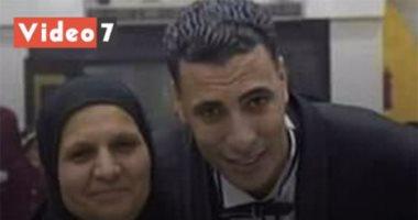 لم تتحمل فراق ابنها.. فلحقت به فى أقل من 24 ساعة من وفاته (فيديو)