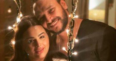 السعودية نيوز |                                              صور جديدة لـ هنادى مهنا وأحمد خالد صالح فى شهر العسل: بحبك من كل قلبى