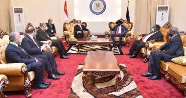 مباحثات مثمرة بين الرئيس السيسى وسلفا كير فى زيارة تاريخية لجنوب السودان