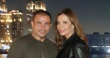 تعرف على حقيقة ارتباط الهضبة عمرو دياب بـ إيمى سالم