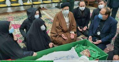 إيران تنشر صورا لنعش عالمها النووى المقتول فخري زادة