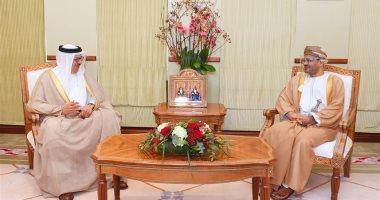 وزيرا خارجية سلطنة عمان والبحرين يبحثان القضايا المشتركة