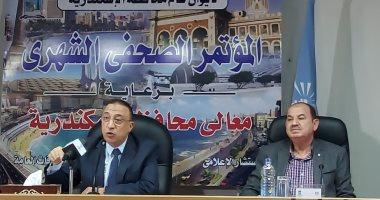 محافظ الإسكندرية: استخراج تراخيص البناء من خلال تطبيق على الهاتف خلال عام