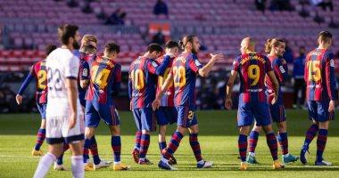 تشكيل برشلونة المتوقع لمواجهة فرينكفاروسى بدون ميسى فى دوري الأبطال
