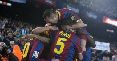 صورة برشلونة يُذكر ريال مدريد بخماسية الليجا التاريخية فى موسم 2011.. فيديو