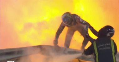 أول تصريح لـ جروجان بعد نجاته من حادث مروع خلال سباق فورمولا 1.. فيديو