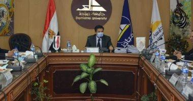 جامعة دمياط توافق على ترشيح محمد فتحى البرادعى لجائزة النيل للفنون