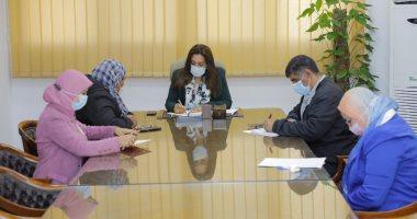 محافظ دمياط تعقد اجتماعاً لمتابعة الموقف التنفيذى لمشروعات مياه الشرب والصرف