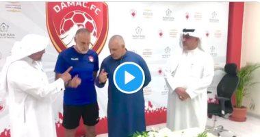 السعودية نيوز |                                              الإيطالي أنجلو مساعد مدرب ضمك السعودى يعلن إسلامه.. فيديو