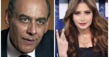 """الكويتية مى العيدان تعتذر بشكل رسمى لـ أحمد بدير عن سقطة """"الأقرع"""" .. فيديو"""