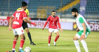 تغيير وحيد فى تشكيل الأهلى المتوقع أمام الطلائع بنهائي كأس مصر الليلة