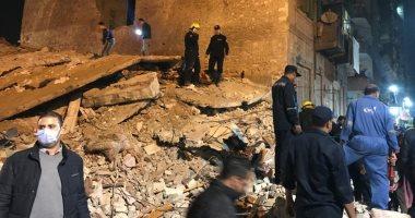 النيابة تصرح بدفن جثث ضحايا عقار محرم بك المنهار فى الإسكندرية
