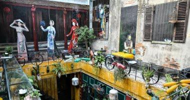 الخردة لها فائدة ..مقهى جذاب فريد من نوعه وصديق للبيئة بفيتنام