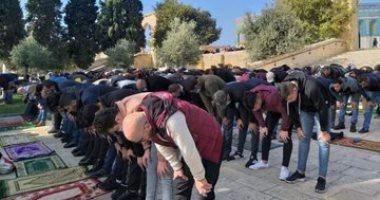 أوقاف القدس تؤكد أداء 15 ألف مصلى صلاة الجمعة فى المسجد الأقصى.. صور