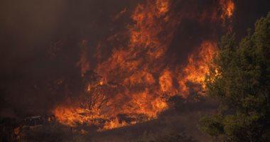 صور.. تجدد الحرائق فى غابات كاليفورنيا والنيران تلتهم مساحات واسعة