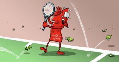 السعودية نيوز |                                              فيروس كورونا يوجه ضربات موجعة للاقتصاد العالمى فى كاريكاتير سعودى