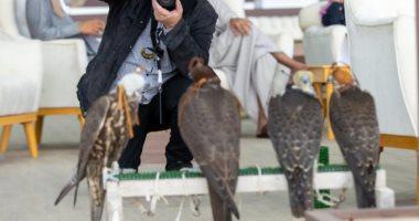 السعودية نيوز |                                              صور.. 282 صقراً تتنافس في مهرجان الملك عبدالعزيز بالعاصمة السعودية
