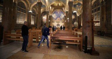 صور.. فلسطينيون يحبطون محاولة مستوطن إحراق كنيسة الجثمانية بالقدس المحتلة