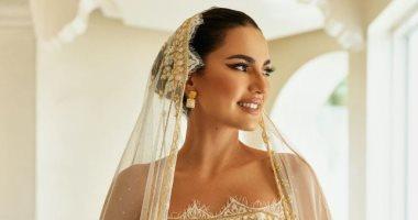 السعودية نيوز |                                              درة تخطف الأنظار بفستان زفاف جديد في أحدث فوتوسيشن.. صور