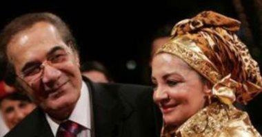 """شهيرة تحيي الذكري الأولي لوفاة محمود ياسين: """" القلب موجوع والضهر مكسور"""""""